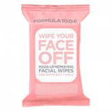 Formula 10.0.6 Wipe Your Face Off, Make-up Removing Wipes 25 wipes