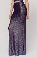 Nightcap Clothing pb exclusive metallic maxi skirt