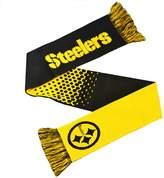 NFL Pittsburgh Steelers Fade Knitted Football Crest Scarf