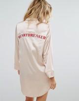 Missguided Heartbreaker Night Shirt