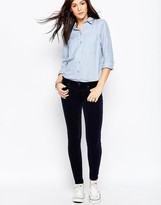 Genetic Los Angeles Genetic Shya Skinny Jeans in Navy