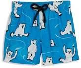 Vilebrequin Baby's & Toddler's Polar Bear Swim Trunks