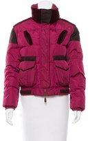 Etro Velvet-Trimmed Puffer Coat