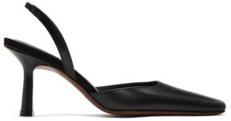 Neous Black Dracu 80 Slingback Heels
