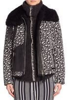 Altuzarra Printed Fur Jacket