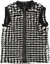 Lanvin Petite Faux Fur Vest
