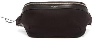 Saint Laurent Canvas Cross-body Bag - Black