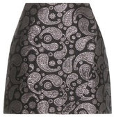 Stella McCartney Beth Paisley Jacquard Miniskirt