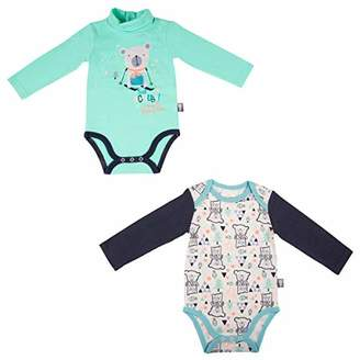 Camilla And Marc Set of 2 7pk Baby Boys Long Sleeve Baby Bear - One Size - 6 Months (68 cm)