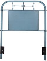 Twin Metal Headboard, Blue