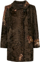 Liska sequin embroidery coat