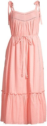 Rebecca Taylor Kelsey Textured Midi Dress