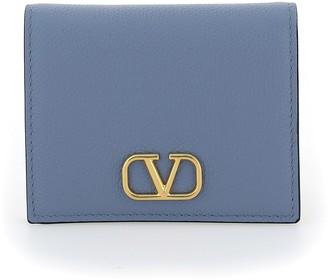 Valentino VLogo Bifold Wallet