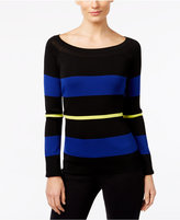 INC International Concepts Petite Colorblocked Sweater, Only at Macy's