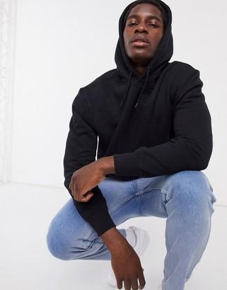 Topman hoodie in black