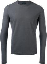 Zanone round neck T-shirt - men - Cotton - 46