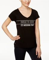 Ideology Wedding Time Bridesmaid Graphic T-Shirt, Only at Macy's