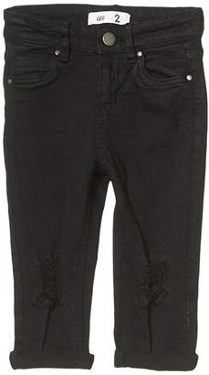 Cotton On Indie Slouch Jeans (Toddler/Little Kids/Big Kids) (Black) Girl's Jeans