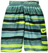 Nike Boys 8-20 Volley Tide Printed Swim Shorts
