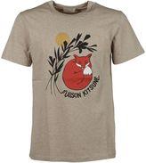 Kitsune Maison Dan-ah Kim Fox T-shirt