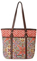 Waverly Women's Paisley Floral Medium Tote Handbag