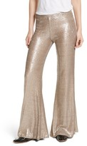 Free People Women's The Minx Sequin Flare Pants