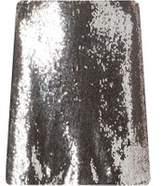 Dorothy Perkins Womens Petite Gold Sequin Skirt