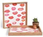 DENY Designs 'Le Baiser' Decorative Serving Tray