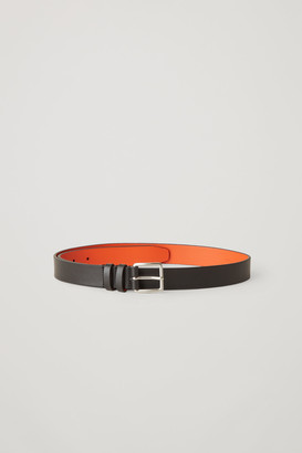 Cos Two-Tone Leather Belt