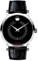 Movado Men&s Swiss Automatic Genuine Alligator Watch
