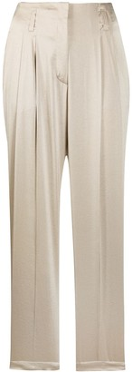 Luisa Cerano Straight Relaxed Fit Trousers
