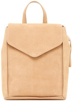 Loeffler Randall Charming Suede and Leather Backpack