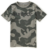 Jordan Big Boys 8-20 Camo Short-Sleeve Tee