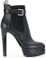 Sergio Rossi platform heeled ankle boots