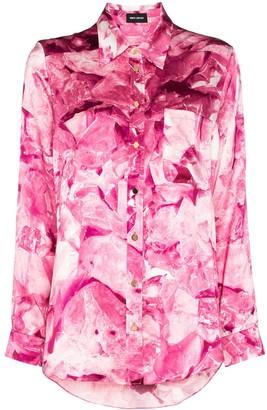 Märta Larsson Smith silk boyfriend shirt