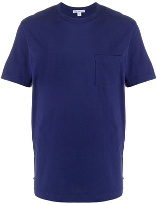 James Perse chest-pocket fitted T-shirt