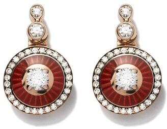 Selim Mouzannar 18kt Rose Gold Diamond Earrings