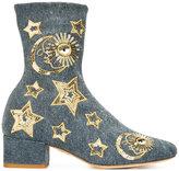 Chiara Ferragni sequin stars boots