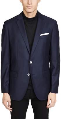 HUGO BOSS Flannel Patch Pocket Sportcoat