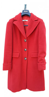 Marella Red Wool Coats