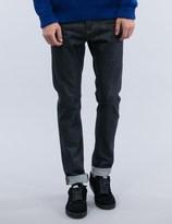 Études Locomotion Raw Denim Jeans