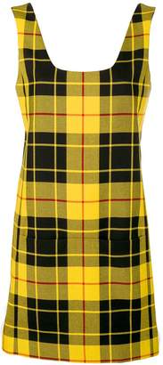 Rokh checked mini dress