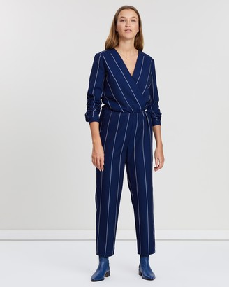 Maison Scotch Striped All-In-One