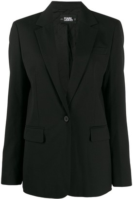 Karl Lagerfeld Paris tailored Piquet jacket