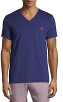 Burberry Jadford V-Neck Cotton T-Shirt