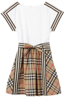 Burberry Kids Cotton Vintage Check Dress (3-12 Years)