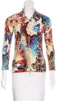 Alberto Makali Patterned Knit Jacket