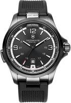 Victorinox Watch, Men's Night Vision Black Rubber Strap 42mm 241596