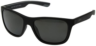 Zeal Optics Radium (Matte Black w/ Polarized Dark Grey Lens) Athletic Performance Sport Sunglasses