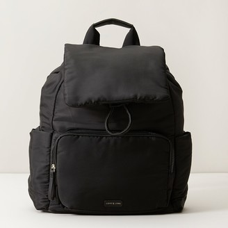 Love & Lore Love And Lore Puffer Backpack Black